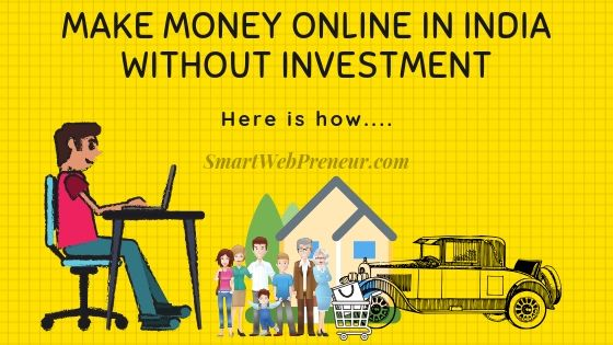 make money online in India for free