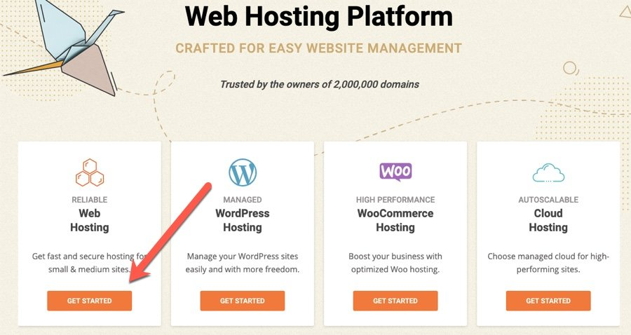 start a wordpress blog on siteground