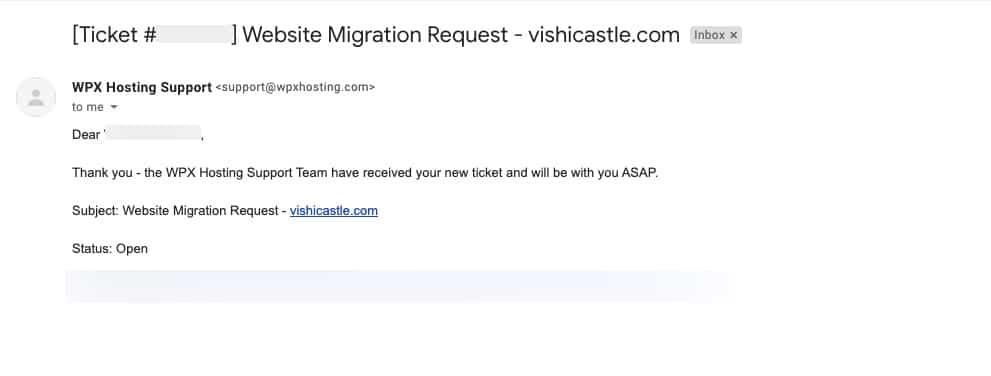 wpx hosting website migration
