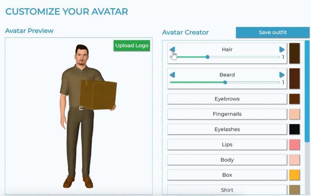 customize avatar