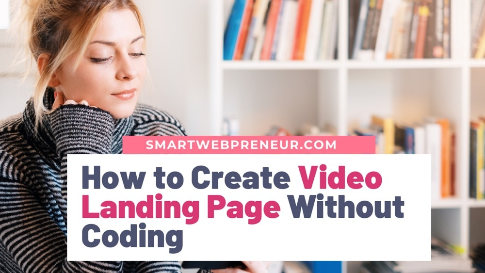 Create Video Landing Page
