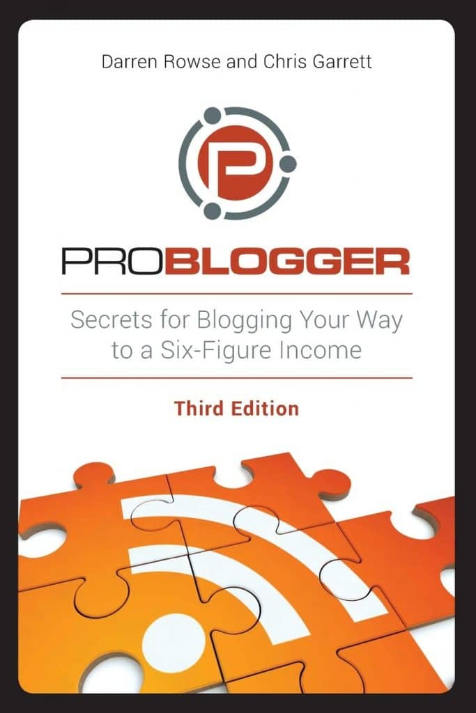 problogger blogging book