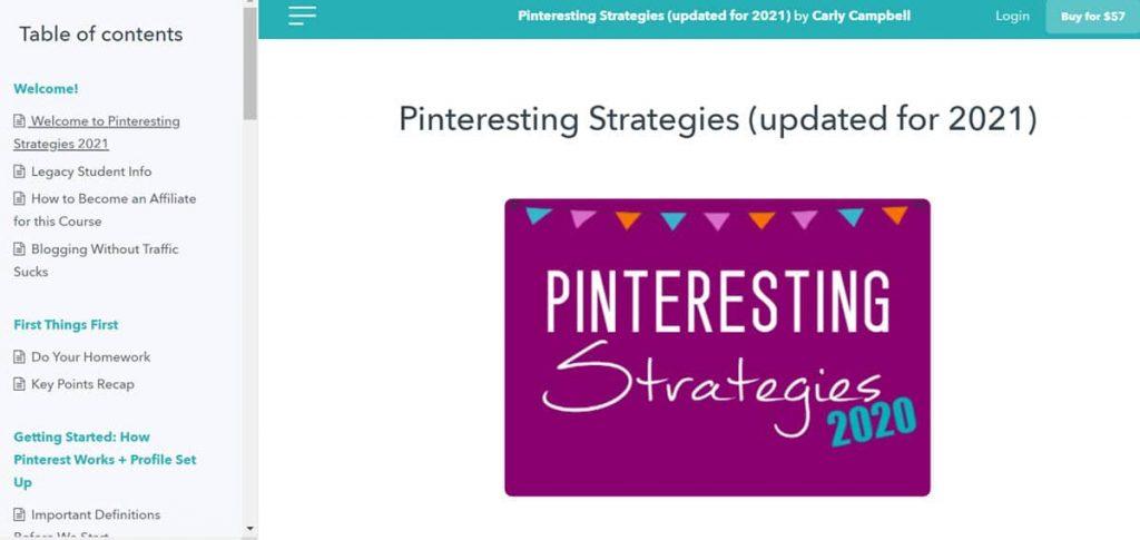 Pinteresting Strategies Review