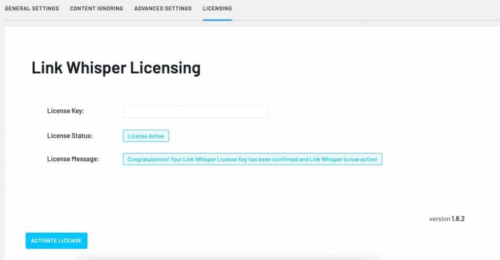 LinkWhisper License